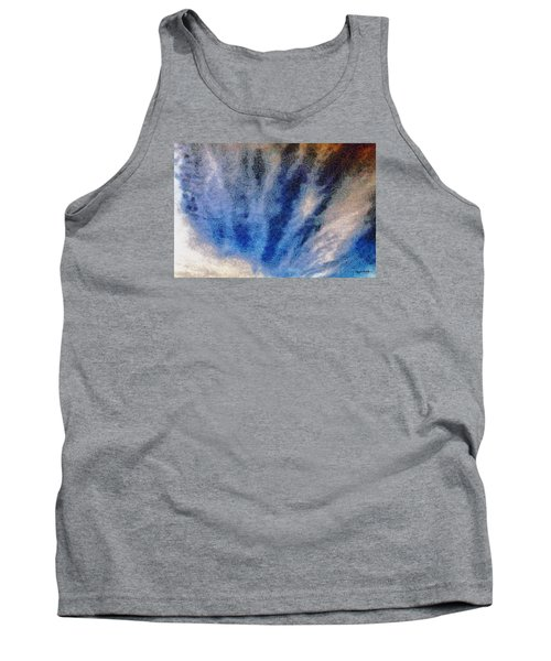 Tank Top featuring the photograph Clouds 12 by Spyder Webb