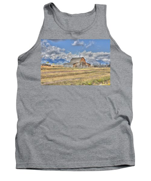 Clouds And Barn Tank Top