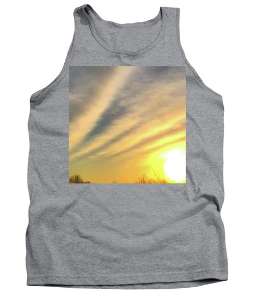 Tank Top featuring the photograph Clouds And Sun by Sumoflam Photography