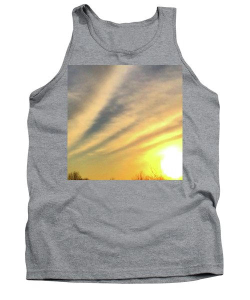 Clouds And Sun Tank Top