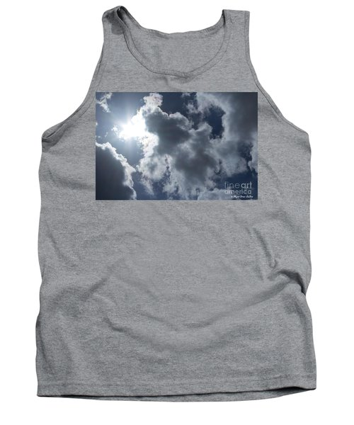 Tank Top featuring the photograph Clouds And Sunlight by Megan Dirsa-DuBois