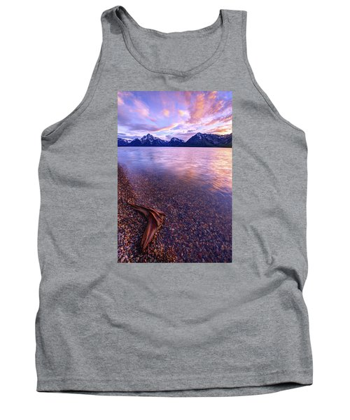 Clouds And Wind Tank Top by Chad Dutson