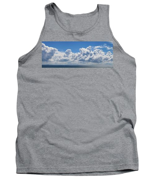 Clouds Over Catalina Island - Panorama Tank Top