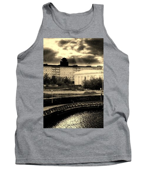 Clouds Over Minsk Tank Top