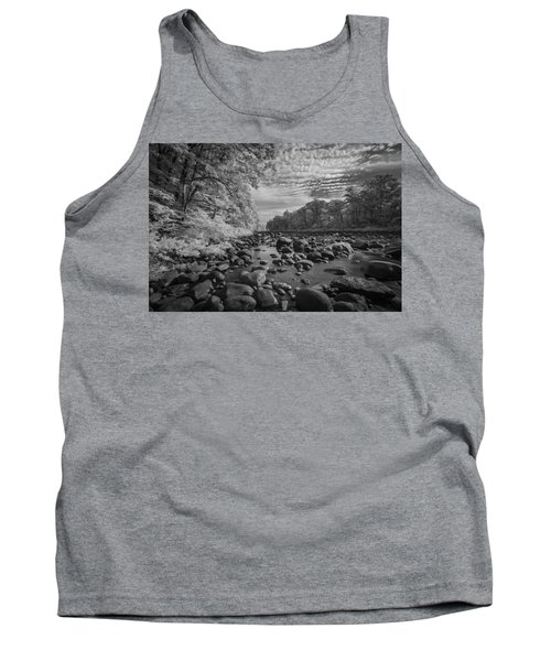 Clouds Over The River Rocks Tank Top