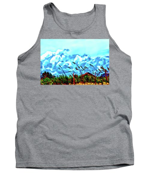Clouds Over Vilano Beach Tank Top