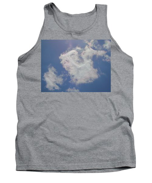 Clouds Rainbow Reflections Tank Top by Cindy Croal