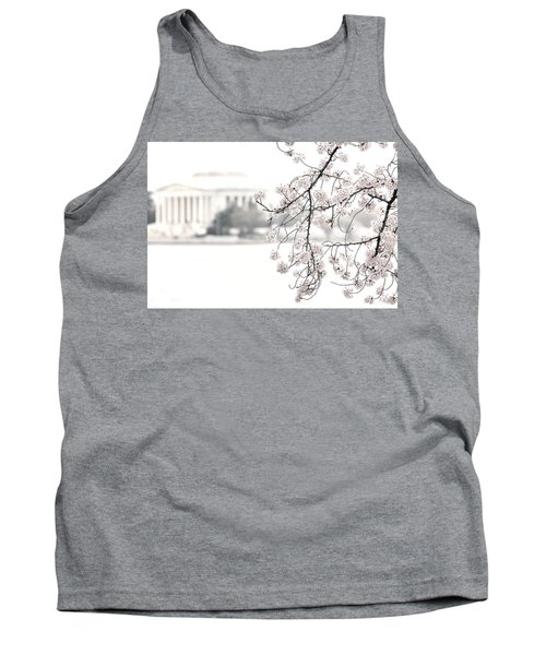 Cloudy With A Chance Of Tourists Tank Top