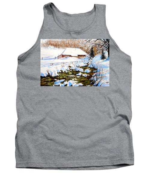 Clubhouse In Winter Tank Top