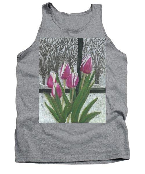 C'mon Spring Tank Top by Arlene Crafton