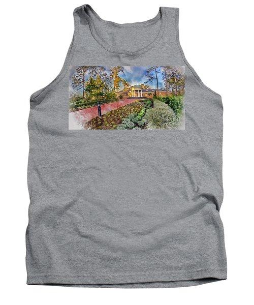 Coastal Carolina University Digital Watercolor Tank Top