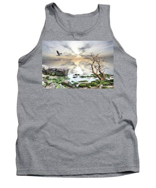 Coastal Landscape  Tank Top