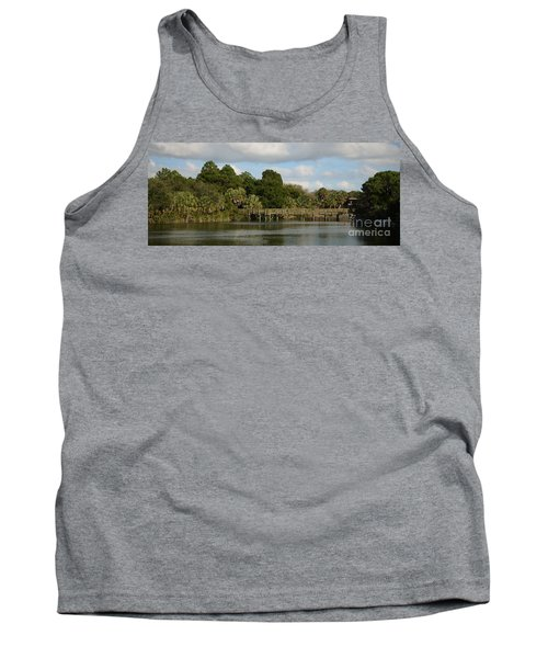 Tank Top featuring the photograph Coastal Serenity by Pamela Blizzard