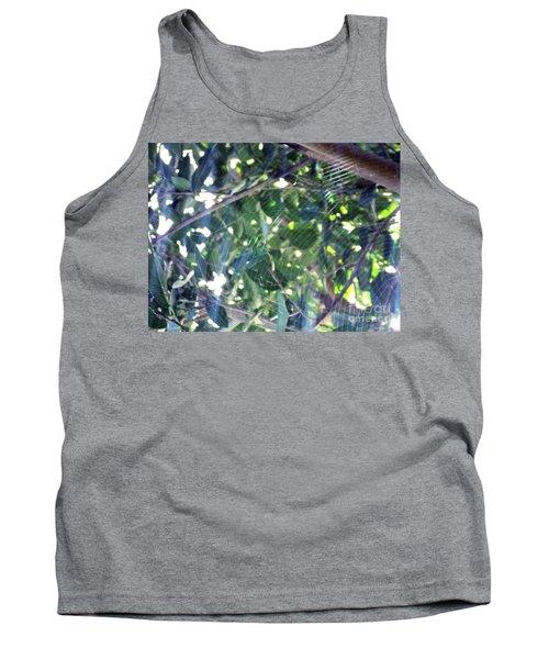 Tank Top featuring the photograph Cobweb Tree by Megan Dirsa-DuBois