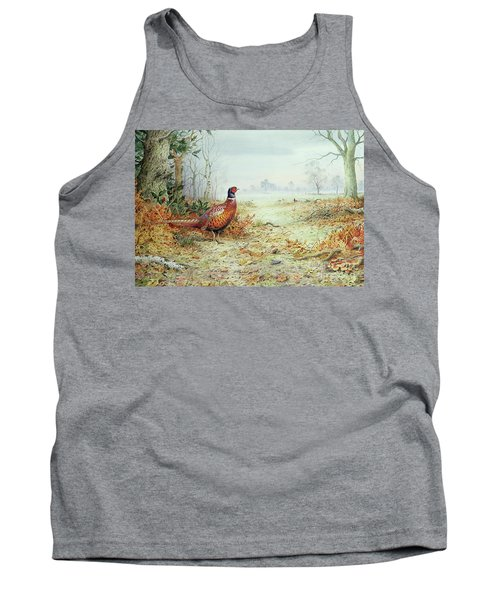 Cock Pheasant  Tank Top by Carl Donner