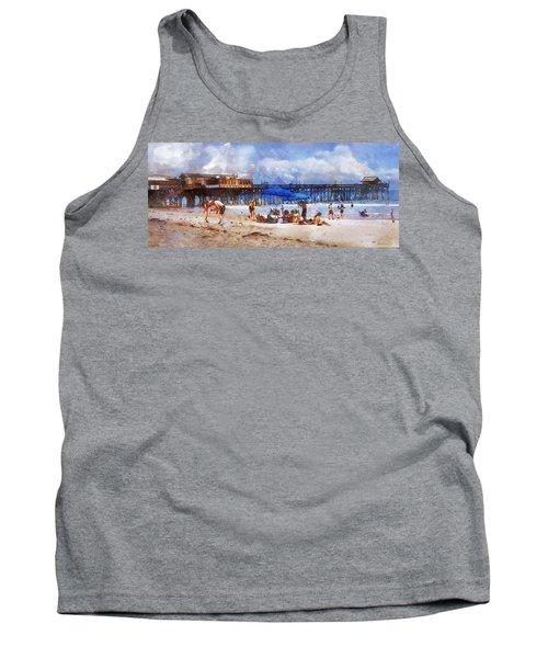 Cocoa Beach Pier Tank Top