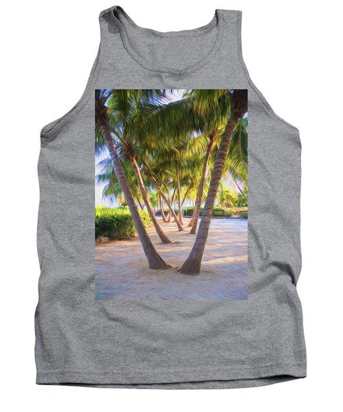 Coconut Palms Inn Beachfront Tank Top