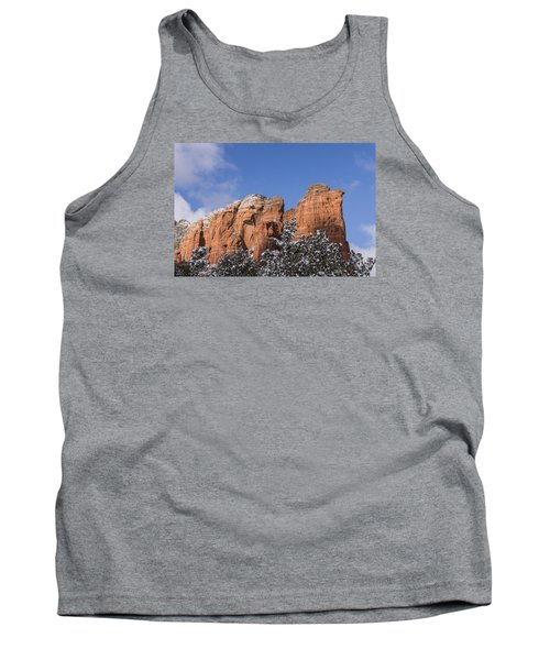 Coffee Pot Leads The Way Tank Top