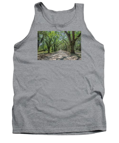 Coffin Point Roadway Tank Top by Patricia Schaefer