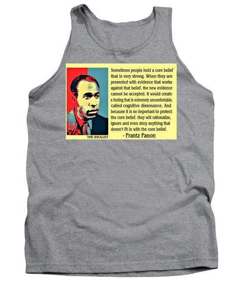 Cognitive Dissonance Frantz Fanon Tank Top