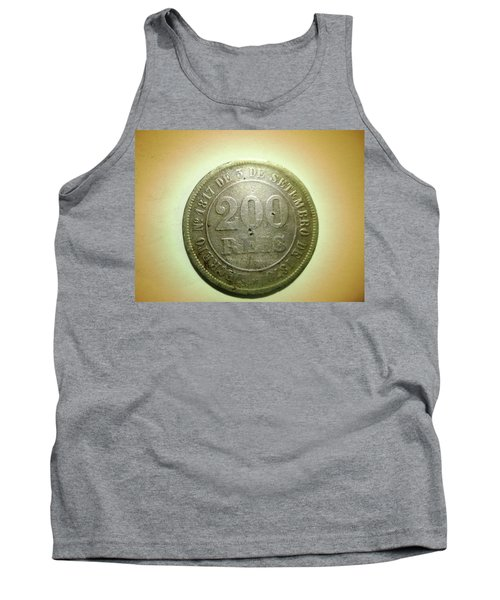 Tank Top featuring the photograph Coin Series - Brazil by Beto Machado