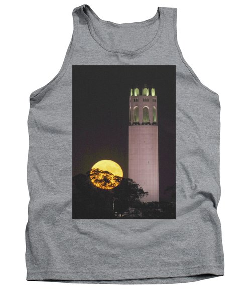 Coit Tower And Harvest Moon Tank Top