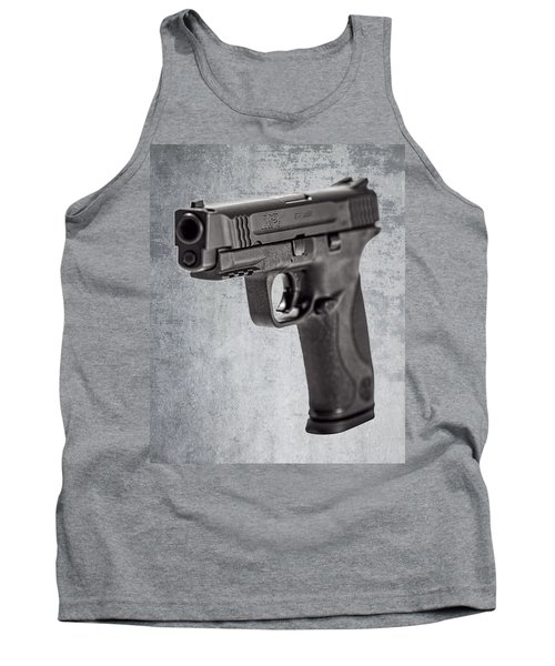 Cold, Blue Steel Tank Top