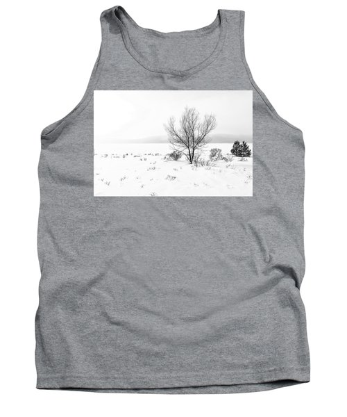 Tank Top featuring the photograph Cold Loneliness by Hayato Matsumoto