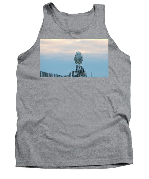 Tank Top featuring the photograph Cold Morning Light by Stephen Flint