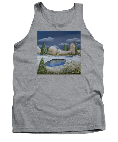 Cold Sky 1 Tank Top by Melvin Turner