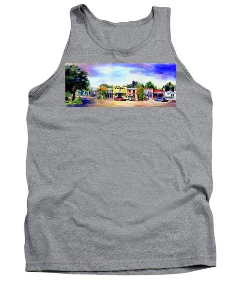 Colfax Main And Church Street Tank Top