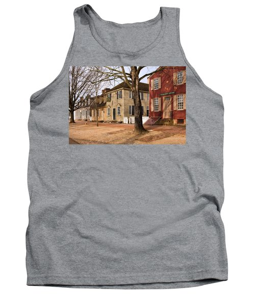 Colonial Street Scene Tank Top