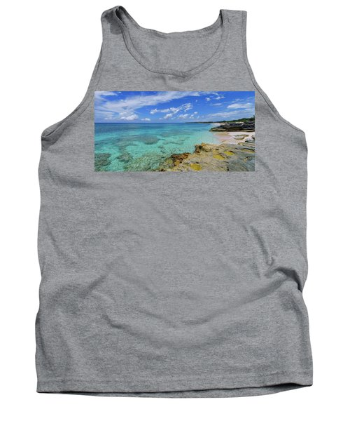 Color And Texture Tank Top