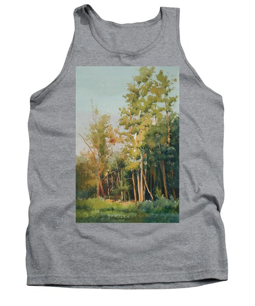Tank Top featuring the painting Color Of Light by Helal Uddin