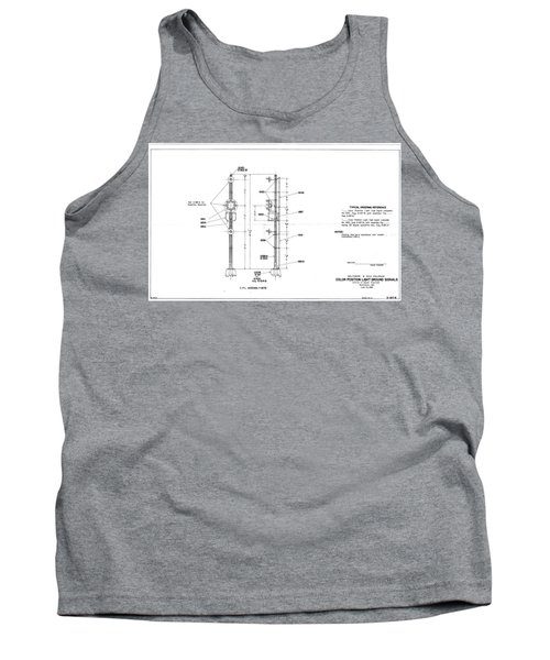 Color Position Light Ground Signals Tank Top