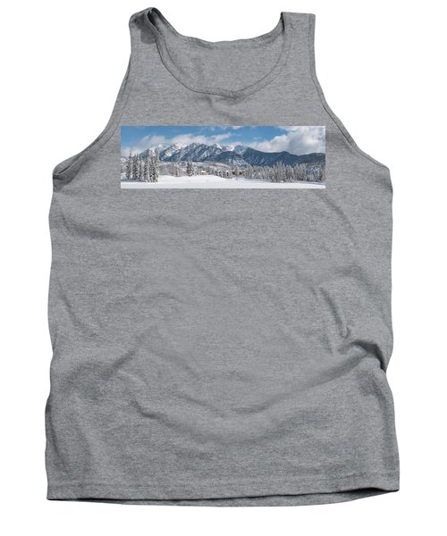 Tank Top featuring the photograph Colorad Winter Wonderland by Darren White
