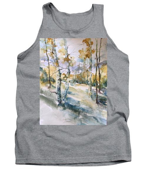 Colorado Aspens And Cottonwoods Tank Top by Robin Miller-Bookhout