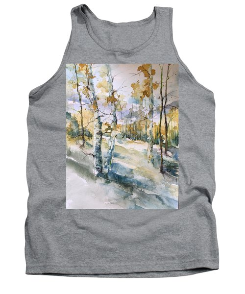 Colorado Aspens And Cottonwoods Tank Top