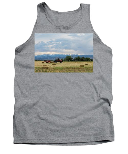 Tank Top featuring the photograph Colorado Country by James BO Insogna