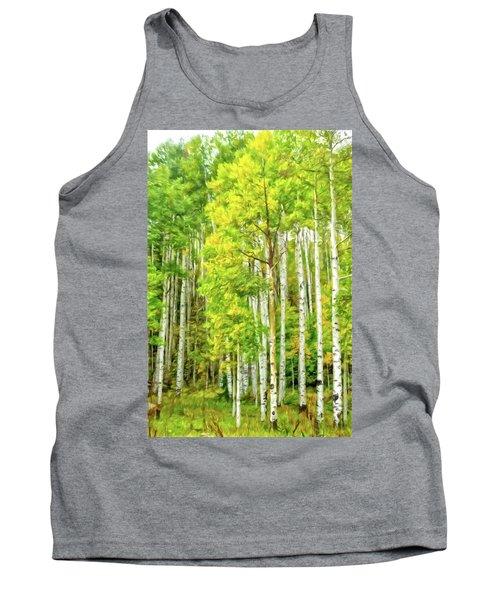 Colorado Fall Foliage Tank Top