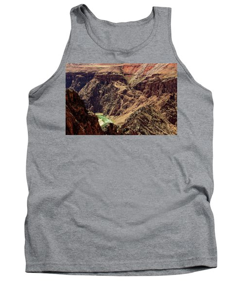 Colorado River From The South Kaibab Trail Tank Top
