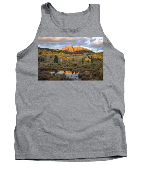 Tank Top featuring the photograph Colorado Sunrise by Phyllis Peterson