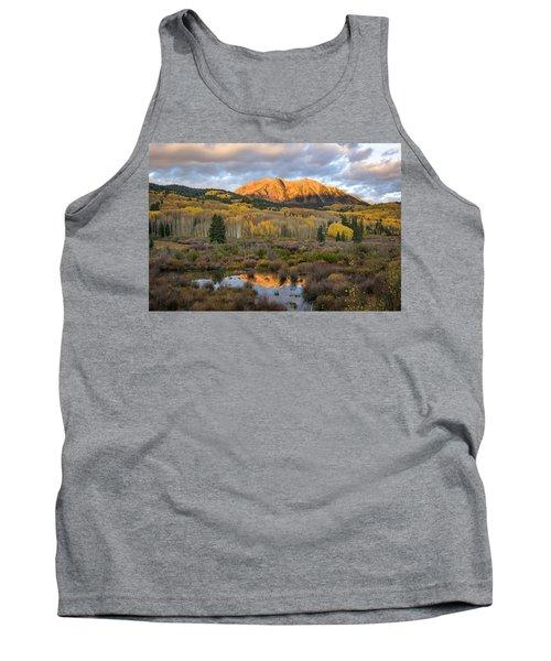 Colorado Sunrise Tank Top by Phyllis Peterson