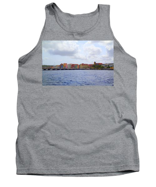 Colorful Curacao Tank Top by Lois Lepisto