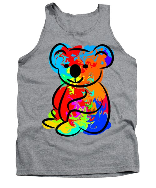Colorful Koala Tank Top