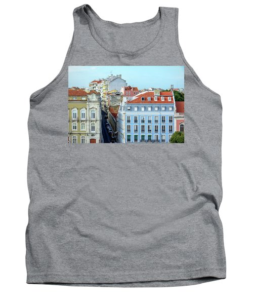 Tank Top featuring the photograph Colorful Lisbon by Marion McCristall