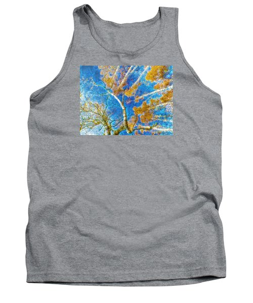 Colorful Mystical Forest Tank Top