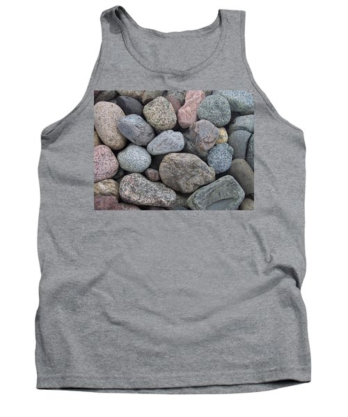 Tank Top featuring the photograph Colorful Rocks by Richard Bryce and Family