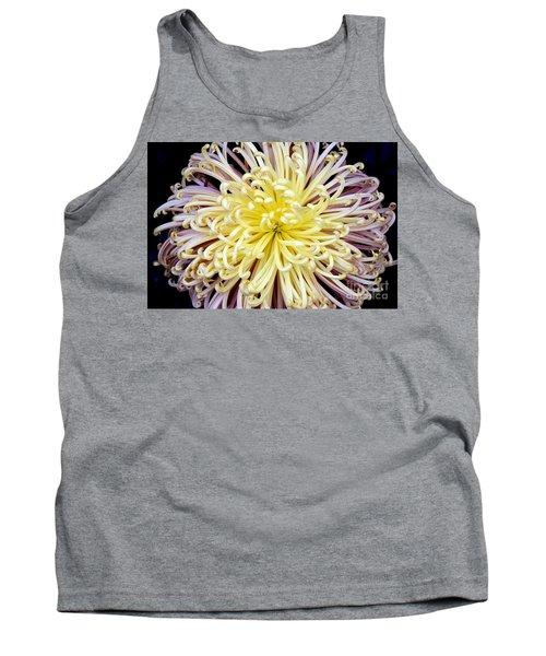 Colorful Spider Chrysanthemum   Tank Top
