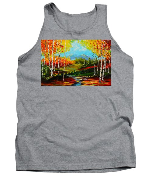Colorful Spring Tank Top